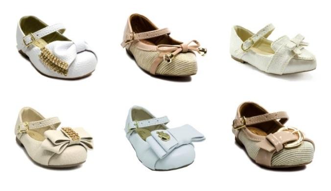 sapatos daminhas de honra